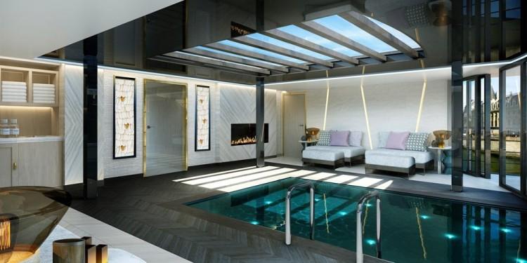 Crystal Bach River Cruise Pool Spa