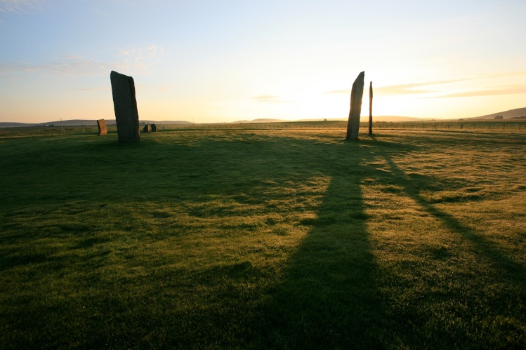 Orkney Cruise Stones of Stenness