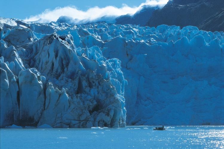 Alaska Cruise Zodiac Glacier