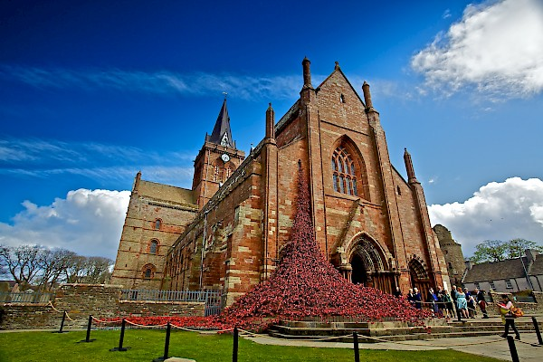 Orkney Cruise St Magnus Cathedral