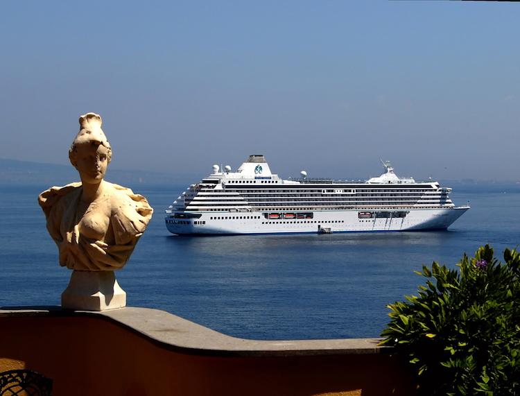 Crystal Serenity Sorrento Mediterranean Cruise