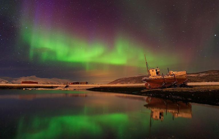 Iceland Cruise Northern Lights