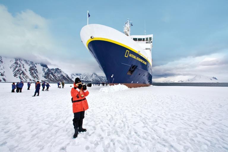 Lindblad Antarctica Landing