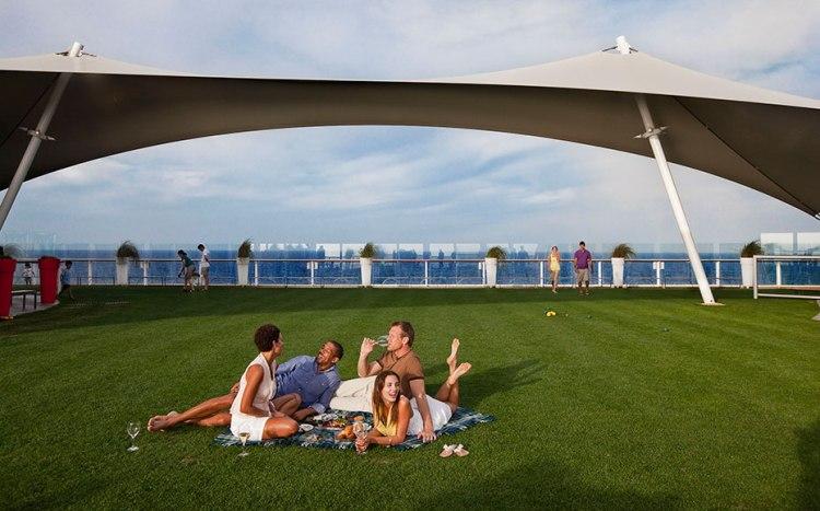 Celebrity Eclipse Lawn Club