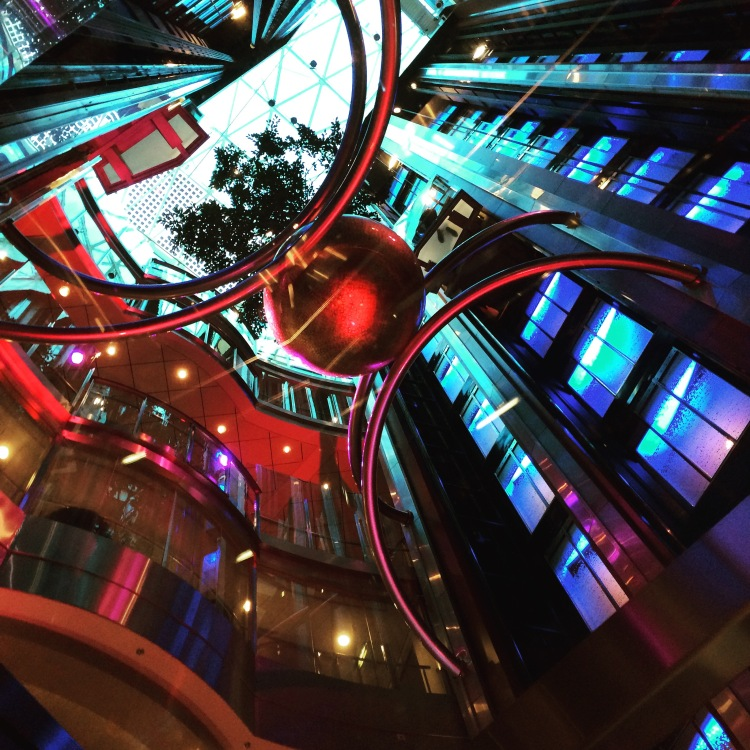 Celebrity Eclipse Atrium