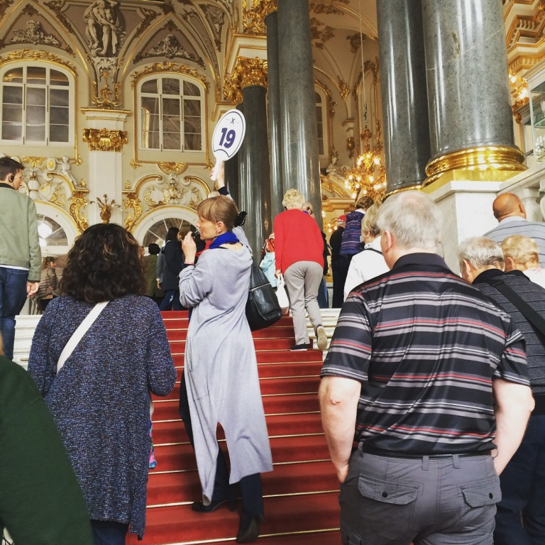Touring the Hermitage Museum