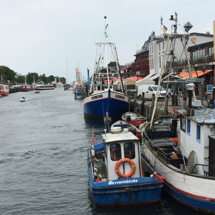 Warnemunde harbour