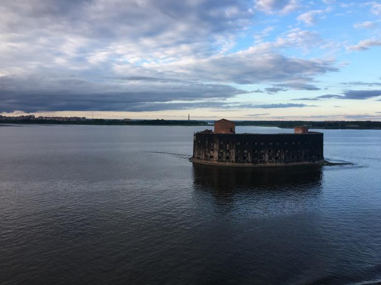 Russian sea fort