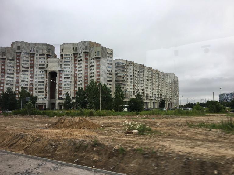 St. Petersburg housing near cruise terminal