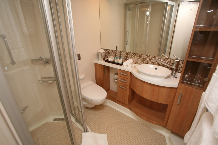 Celebrity Eclipse Veranda Bathroom
