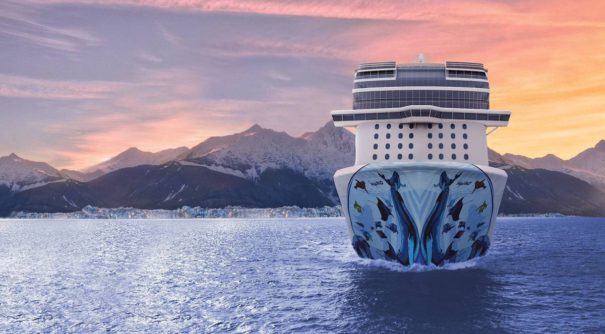 New Cruise Ships For 2018 Norwegian Bliss Water Earth Air