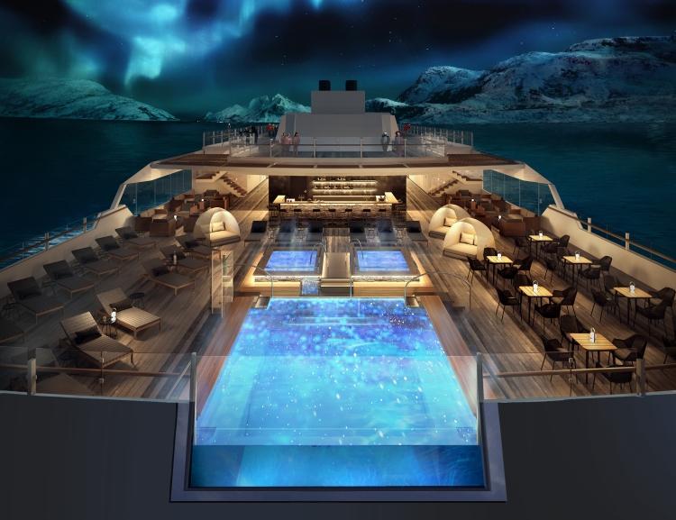 Roald Amundsen Infinity Pool