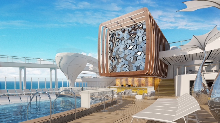 Celebrity Edge Resort Deck