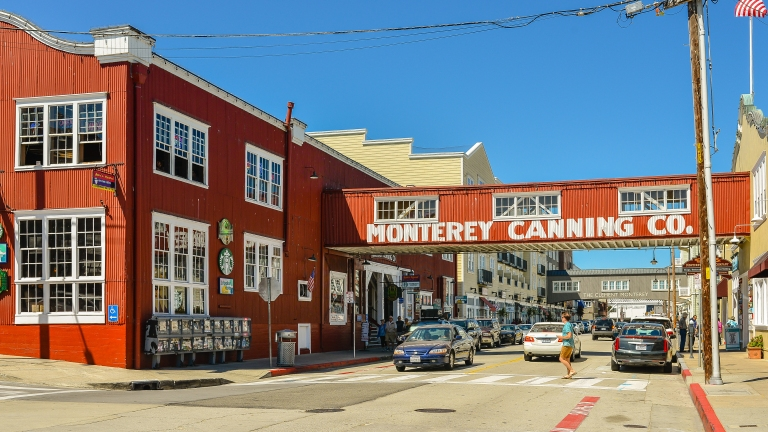 Cannery Row, Monterey, CA.