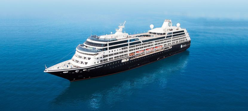 Radar: Azamara introduce new ship Pursuit