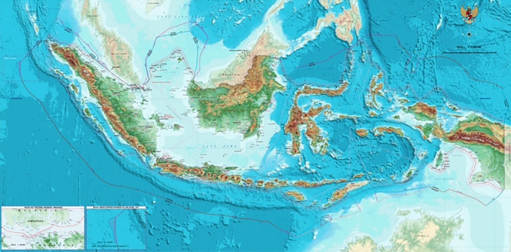 Prana Indonesia map
