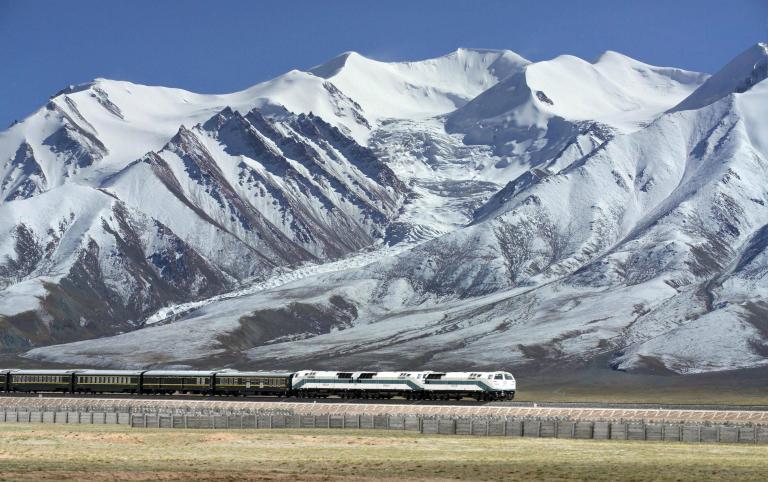 Xining to Lhasa Railway